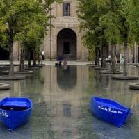 Parma, in piazza della Pace approdano le barchette - Foto