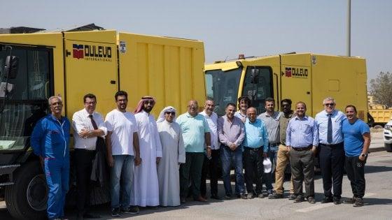 Le spazzatrici Dulevo puliranno le strade del Kuwait: commessa da 25 milioni di euro