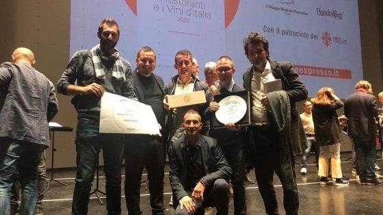 Guida de L'Espresso: Ai Due Platani miglior trattoria italiana dell'anno