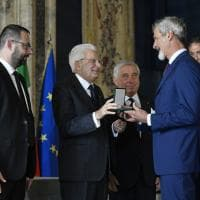 Guido Barilla, Giampiero Maioli e Francesco Pugliese Cavalieri del lavoro - Foto