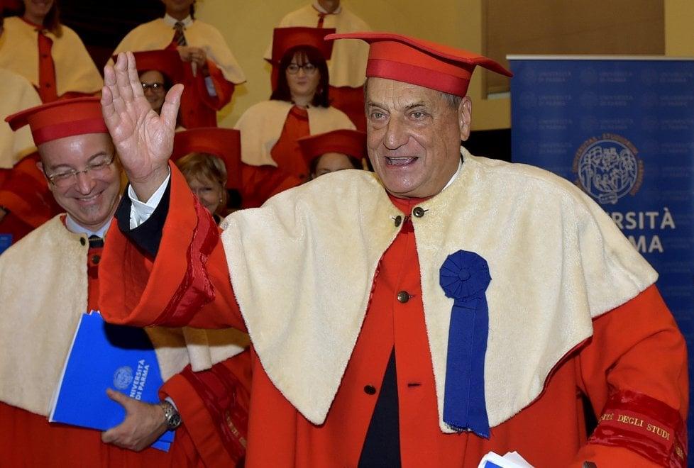 Parma, laurea ad honorem a Claudio Magris - Foto