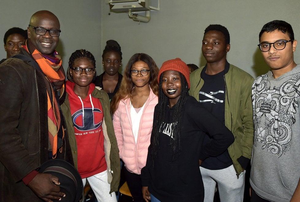 Parma, l'ambasciatore Unicef Thuram incontra gli studenti - Foto