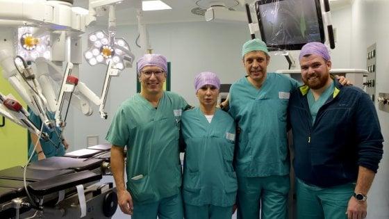 operazione robotica alla prostata