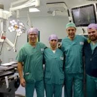 Ospedale di Parma, eseguito il primo intervento con il robot