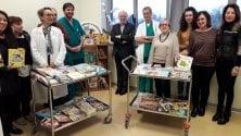 Duecento libri in regalo  ai piccoli pazienti di Vaio