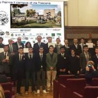 Blu Parma, il progetto campus green premiato al Senato