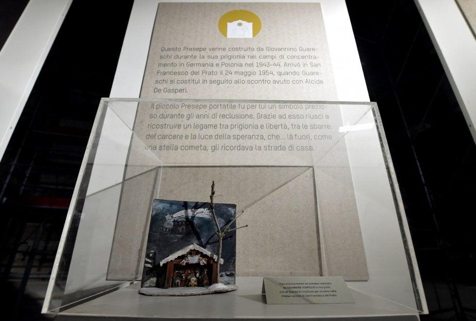 Parma, il presepe di Giovannino Guareschi nella chiesa di San Francesco del Prato