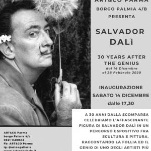 Parma, Art&Co rende omaggio a Salvador Dalì