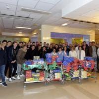 I doni del Parma calcio ai piccoli pazienti del Maggiore