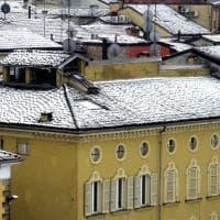 Parma, una spolverata di neve imbianca la città - Foto