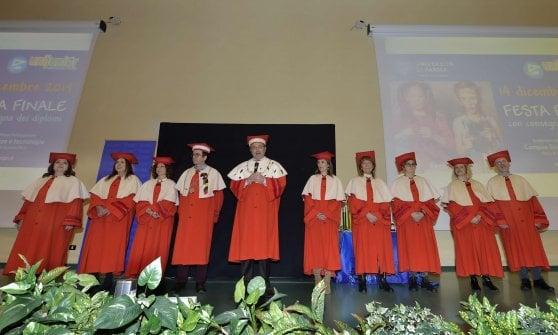 Dottori e dottoresse Unijunior: grande festa all'università di Parma