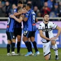 Atalanta-Parma 5-0: fotoracconto del crollo crociato