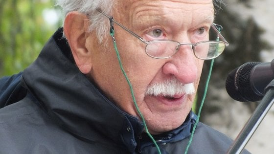 A Parma Ernst Grube, sopravvissuto al campo di concentramento di Terezin