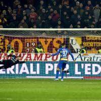 Coppa Italia, Parma - Roma: la fotocronaca