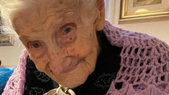 Parma, gli auguri della città a nonna Irma, 110 anni