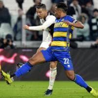 Il Parma spaventa la Juventus. Ma decide ancora Ronaldo