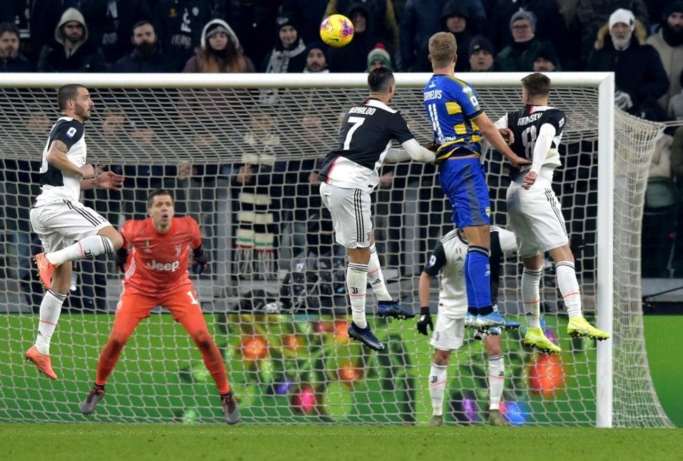 Juventus-Parma: la fotocronaca