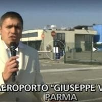 Parma, all'aeroporto