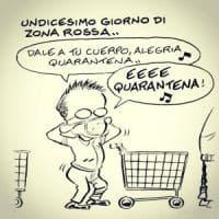 La pandemia in vignette di Leo Ortolani: