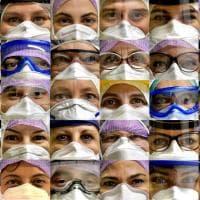 Coronavirus, i volti dei sanitari nella trincea del Maggiore di Parma - Foto