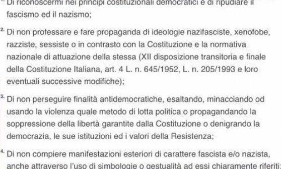 Clausola antifascista per i buoni spesa: da Meloni al Pd critiche al Comune di Parma