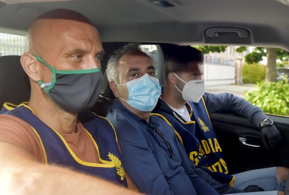 Operazione Work in progress: Franco Gigliotti torna in carcere a Parma - Foto