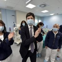 Parma, la visita del ministro Speranza al Maggiore - Foto
