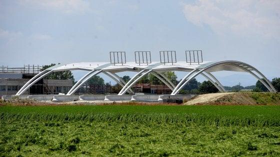Tibre, fra i poderi nel Parmense spunta un nuovo casello autostradale