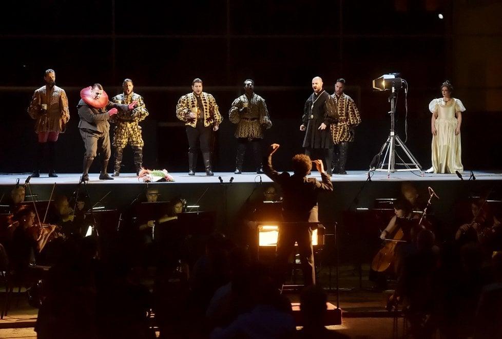 Rigoletto al barsò: l'opera all'aperto a Parma dopo il lockdown - Foto