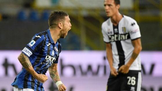 Parma rimontato: l'ultima stagionale al Tardini è dell'Atalanta