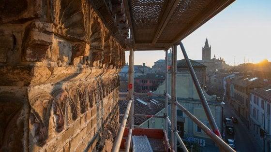 Dall'alto di San Francesco del Prato: riprendono le visite in quota a Parma