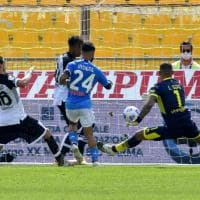 Parma-Napoli: la fotocronaca