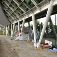 Parma, il ponte Nord rifugio per i senzatetto - Foto