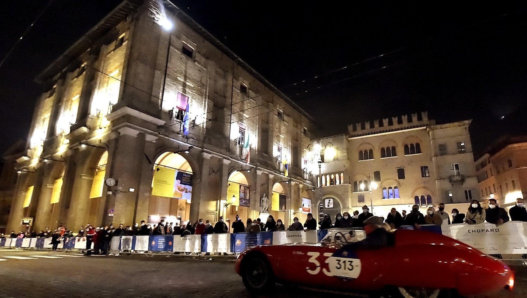 Parma, la notte della Mille Miglia - Foto - la Repubblica