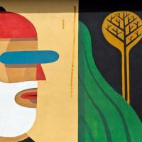 San Basilio, gli street artist Iacurci e Liqen colorano la periferia