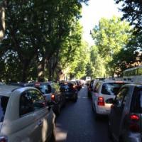 Si rompe tubatura Acea, traffico in tilt a Roma Nord