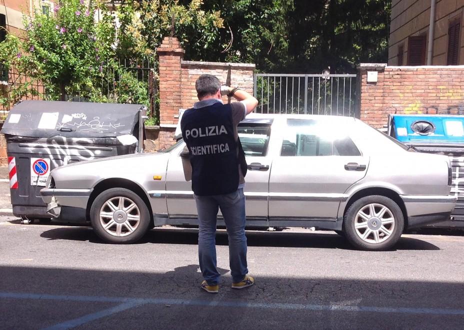 Omicidio Camilluccia, la presunta auto del commando