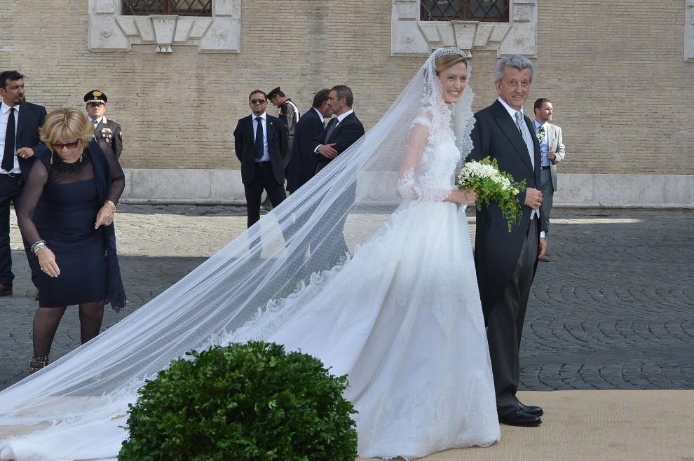 Trastevere, nozze romane per i reali del Belgio