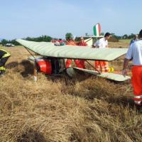 Incidente tra il Lazio e l'Umbria, precipita un aereo ultraleggero