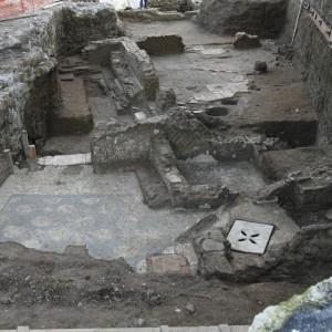 Archeologia, in via Portuense spunta un'antica stazione con terme e sepolcri