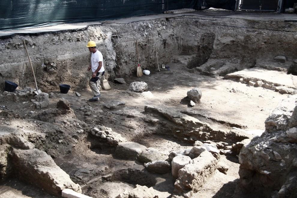 Portuense, scoperta l'antica stazione con terme e luoghi di culto