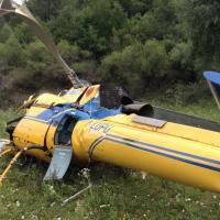 Si schianta elicottero del servizio antincendio, tragedia in provincia di Rieti