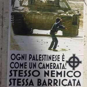 Scritte antisemite a Roma, da San Giovanni a Prati: volantini con svastiche pro Palestina