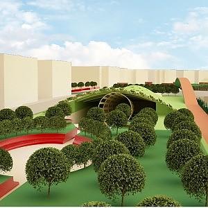 Ex tangenziale, ecco il progetto dell'orto urbano