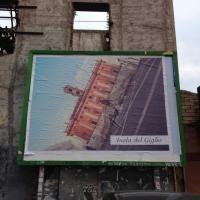 Il Campidoglio inclinato come la Concordia, i manifesti con l''Inchino-declino' di Iginio De Luca