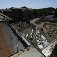 Le scuderie di Augusto ingoiate dal maxiparcheggio nel cuore di via Giulia