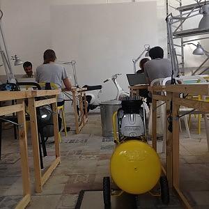 Makerspace, il loft del Pigneto dove i trentenni fanno gli artigiani