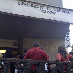 Paura all'Umberto I, a fuoco piastra elettrica del caffè: fiamme in una sala operatoria, pazienti evacuati