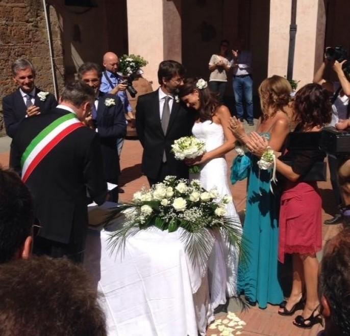 Sutri, le nozze del ministro Franceschini