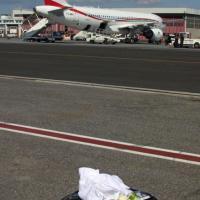 Fiumicino, la valigia sospetta e il falso allarme bomba